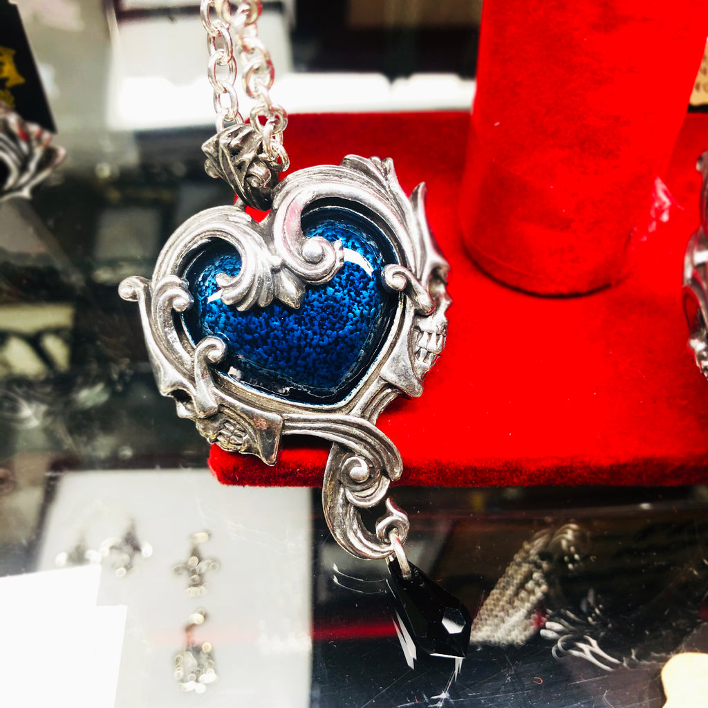 Necklace - Pendant - Midnight Heart
