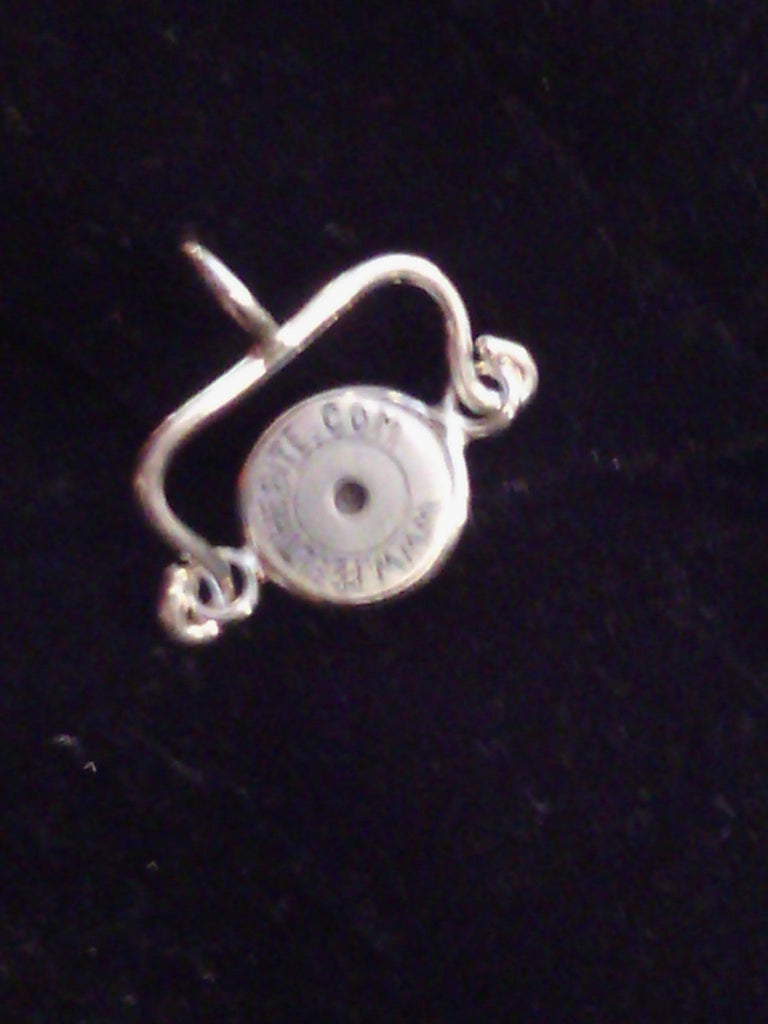 Necklace  - Pendant -Silver Bullet