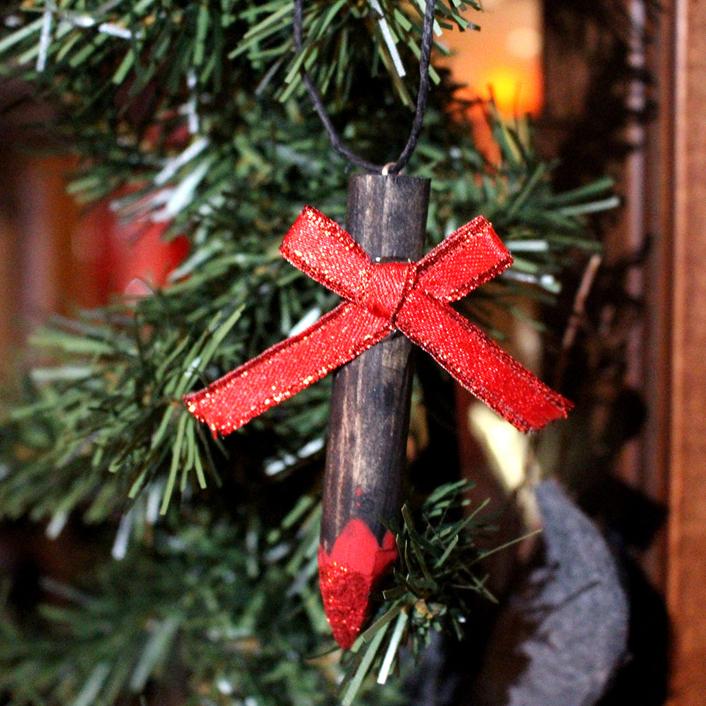 Mini Wooden Stake Ornament