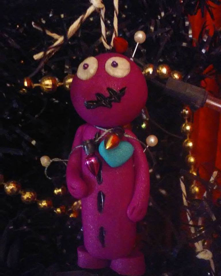 Creepy Christmas Voodoo Companion Ornament