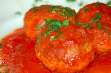 Turkey Meatballs Alla Nonna