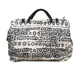 Mudcloth inspired print bag