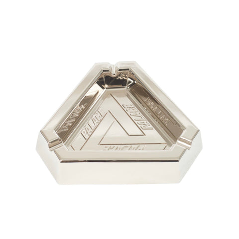 Cinzeiro Palace Tri-Ferg Ashtray Silver