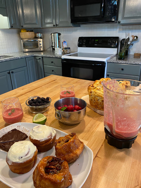 Stagshead Lakehouse: Smoothie & a Treat