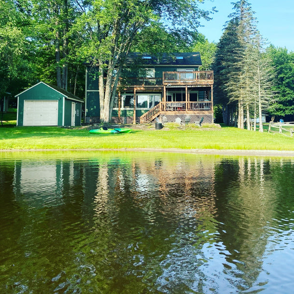 Stagshead Lakehouse: View from Arrowhead Lake