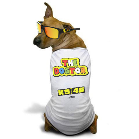 'The Dogtor' - Rossi inspired Dog T-Shirt