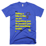 Rossi Quote - Short sleeve men's t-shirt
