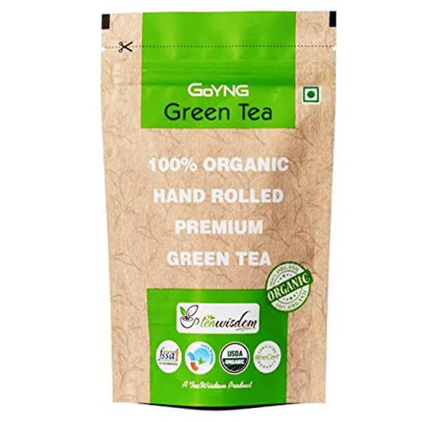 GoYNG 100% Organic Hand Rolled Premium Green Tea – 50g - Discountpur.in