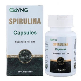 GoYNG Spirulina 500mg (60 Caps) - Discountpur.in