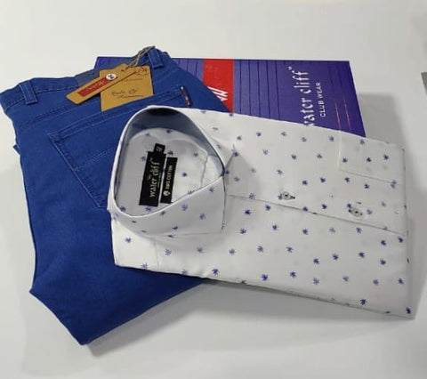 Men's Combo White Stuff Star Shirt