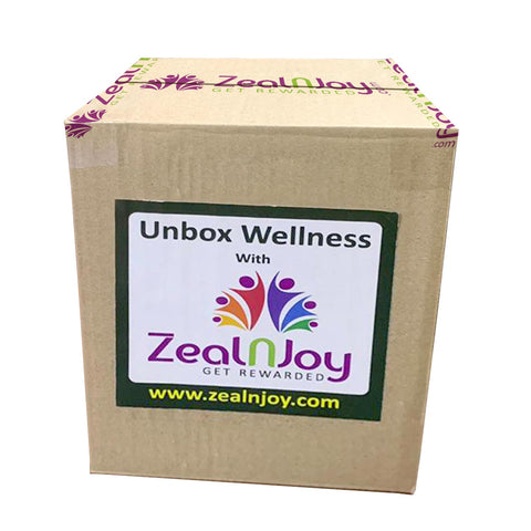 Wellness Box with T-Shirt Combo by ZealnJoy.com - Discountpur.in