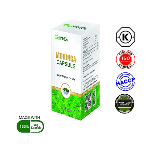 GoYNG Moringa 500mg (60 Caps) - Discountpur.in