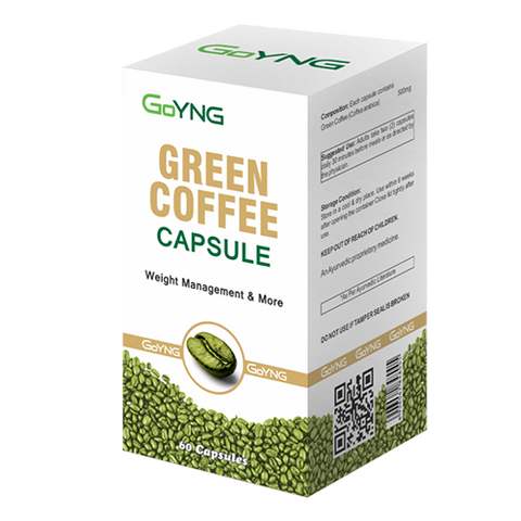 GoYNG Green Coffee 500mg (60 Caps) - Discountpur.in