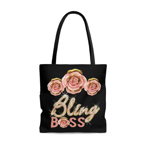 Bling Rose Gold Tote