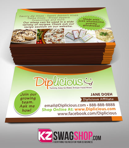 Diplicious Business Cards Style 1