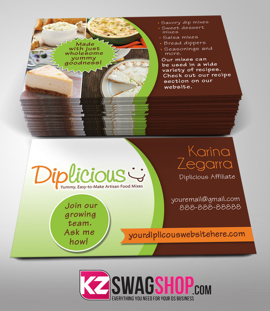 Diplicious Business Cards Style 2