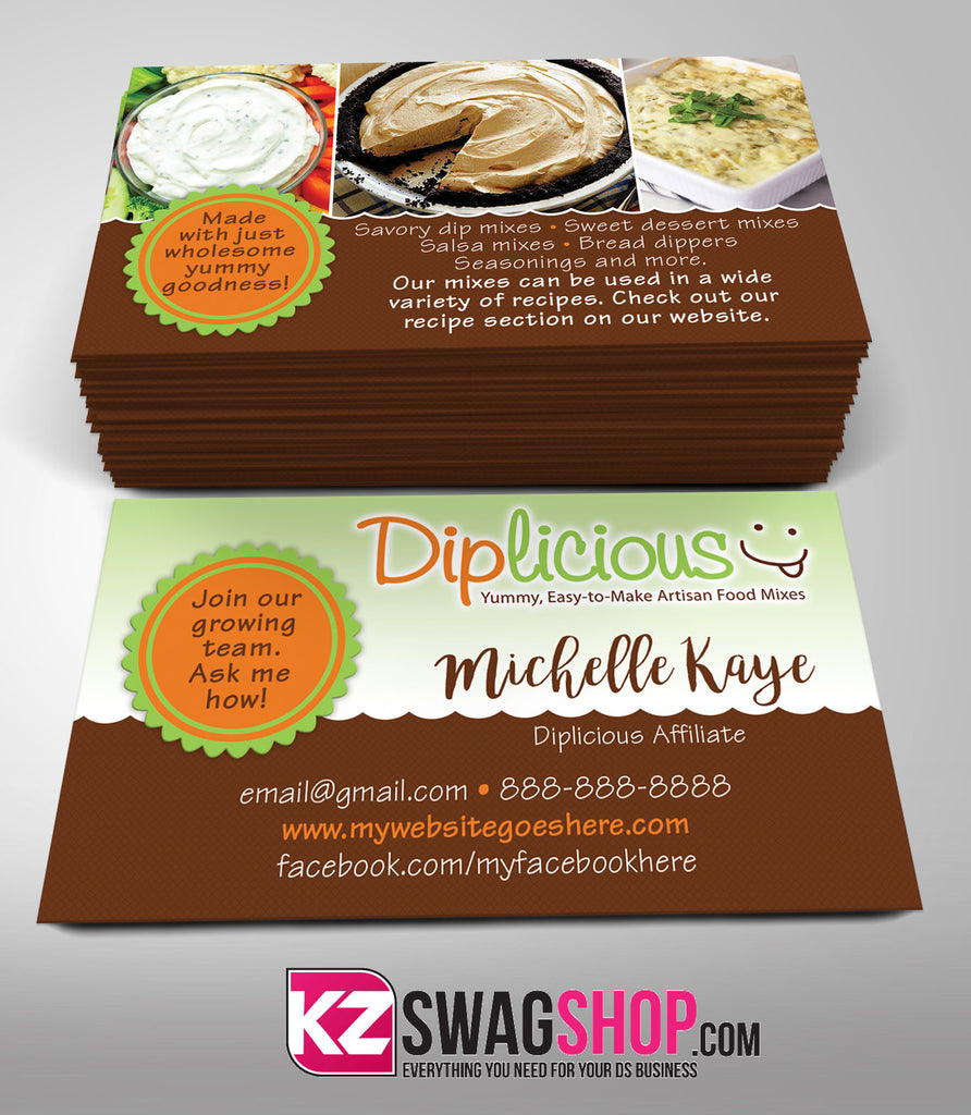Diplicious Business Cards Style 3