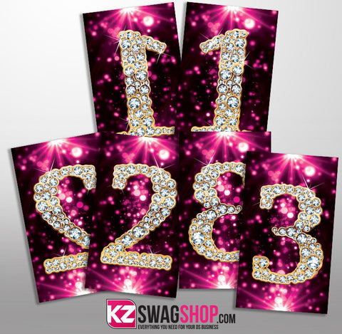 $5 Bling - FB Live Parties 1-200 Numbers + 10 FREE 25 price cards