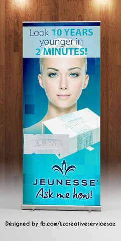 Jeunesse Retractable Banner - Style 1