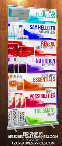 Jeunesse Retractable Banner - Style 2