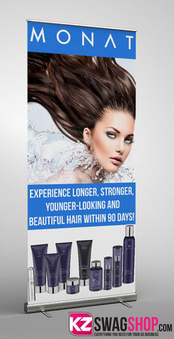 Monat Retractable Banner - 2