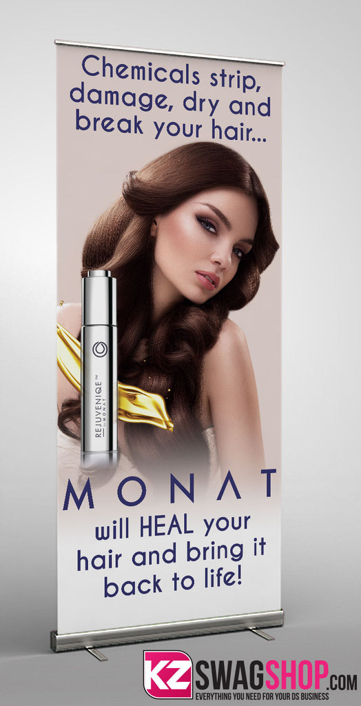 Monat Retractable Banner - 3