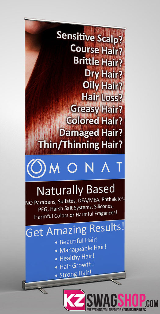 Monat Retractable Banner - 4