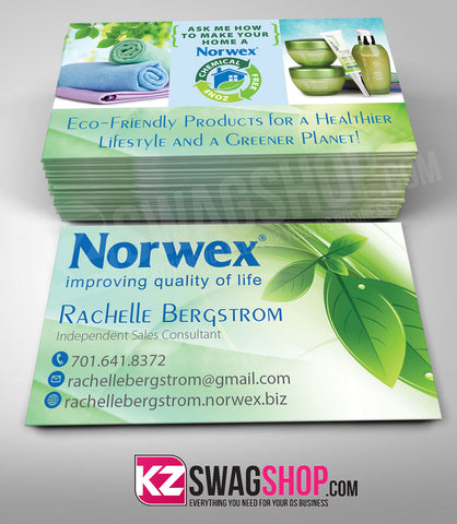 Norwex Business Cards Style 1