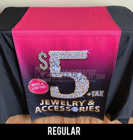 $5 Bling - 24x72 Table Runner - Regular