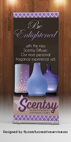 Scentsy Retractable Banner - Style 2