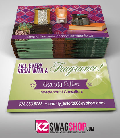 Scentsy Jewelry Business Cards Style 1