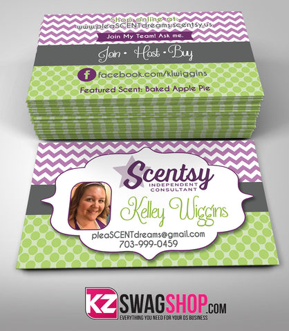 Scentsy Jewelry Business Cards Style 3