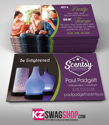 Scentsy Jewelry Business Cards Style 4