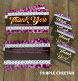 ***BUNDLE UP*** Bling 100 Thank you Cards + 100 Thank you Stickers
