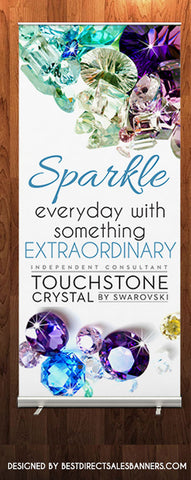 Touchstone Crystal Retractable Banner - Style 1