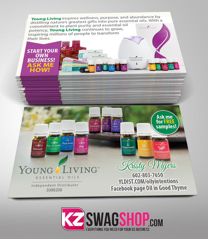 YOUNG LIVING Business Cards Style 2