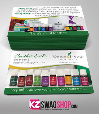 YOUNG LIVING Business Cards Style 4