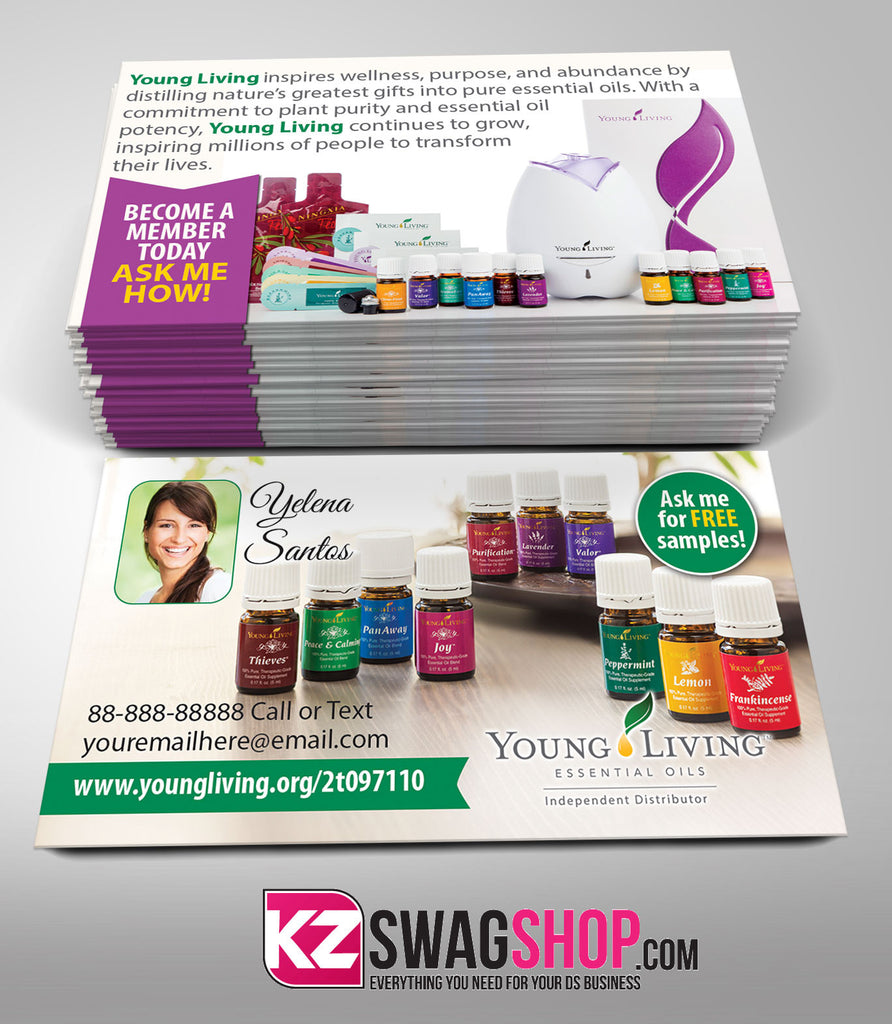 YOUNG LIVING Business Cards Style 6