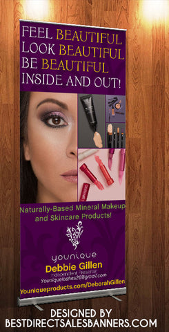 Younique Retractable Banner style 2