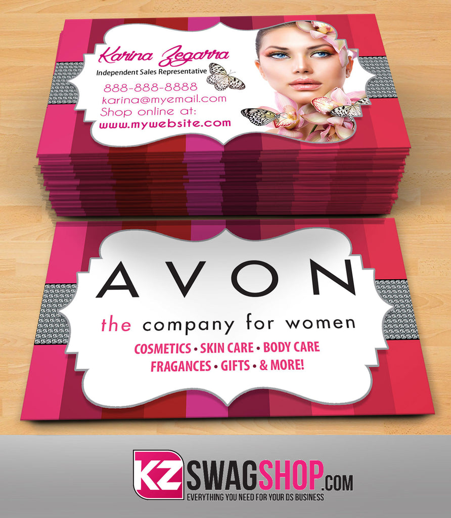 Avon Business Cards Style 2 – KZ Swag Shop
