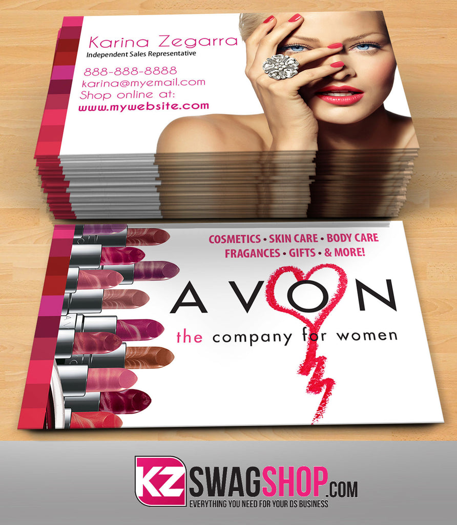 avon business cards style 3 - Avon Business Cards