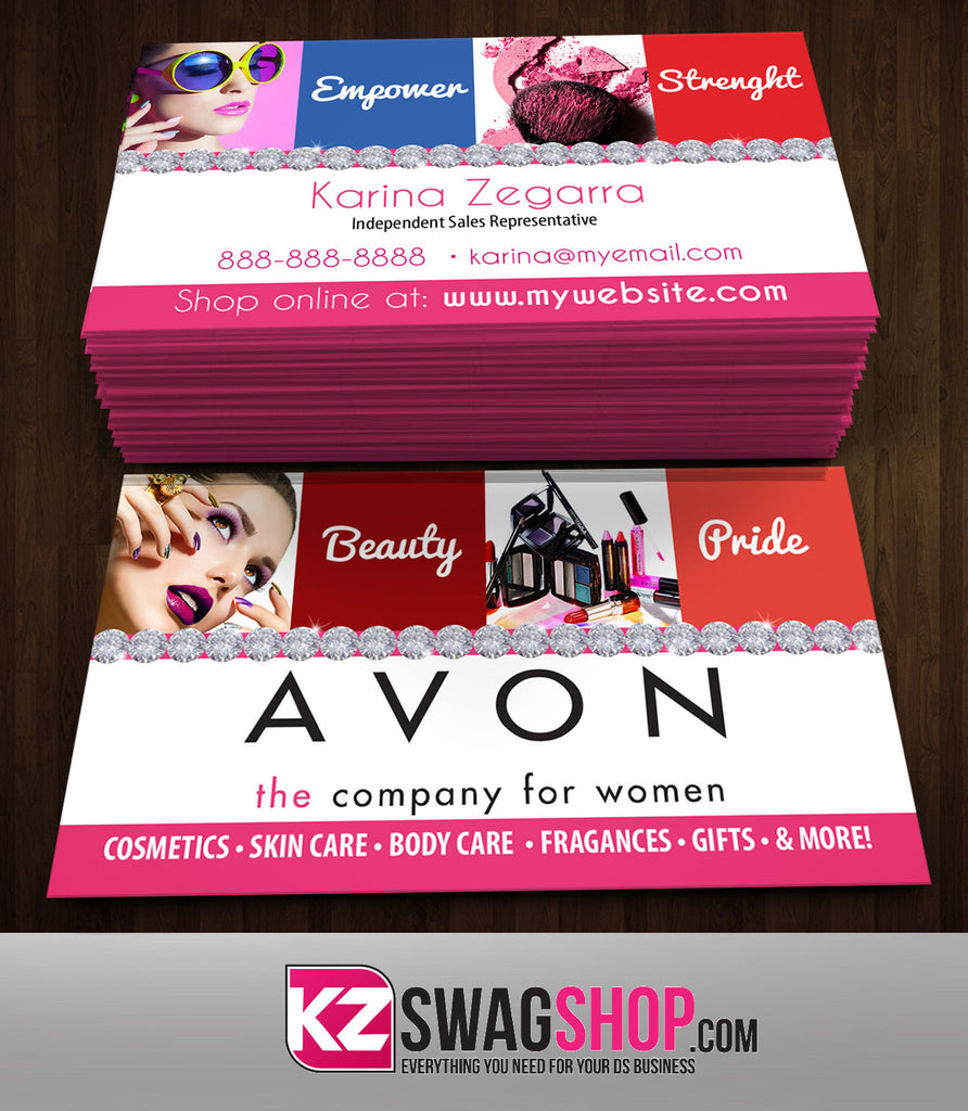 Avon Business Cards Style 4