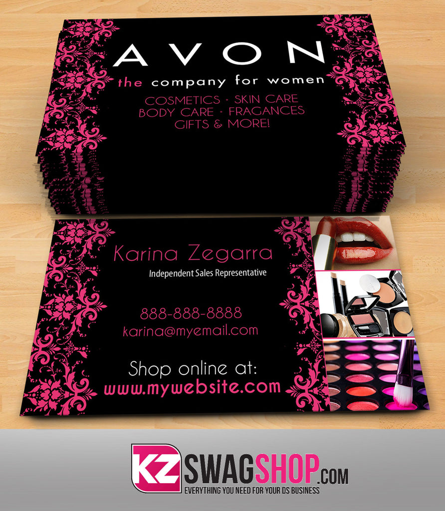 avon business cards style 5 - Avon Business Cards