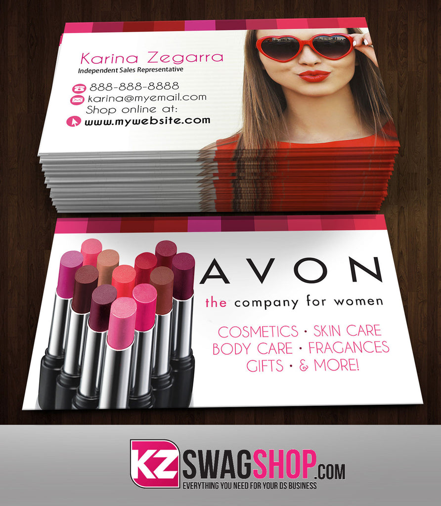 Avon Business Cards Style 6