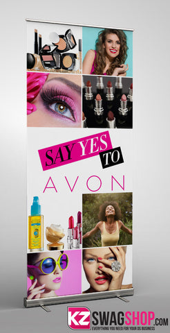 Avon Banners Colouring Banners