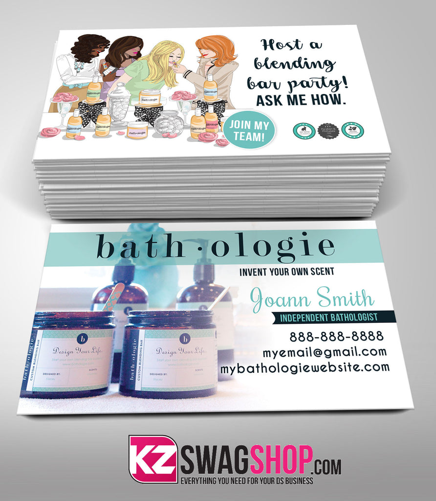 Bathologie Business Cards Style 2