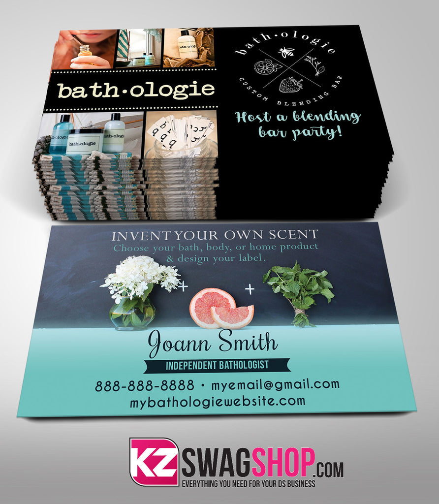 Bathologie Business Cards Style 3 – KZ Swag Shop