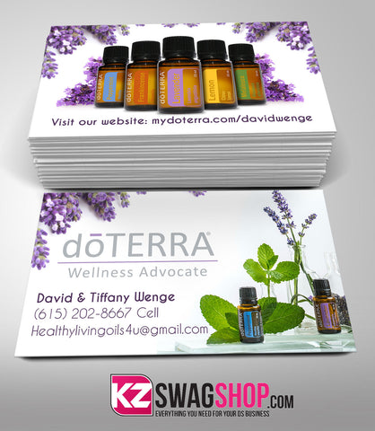 doTERRA Business Cards Style 1