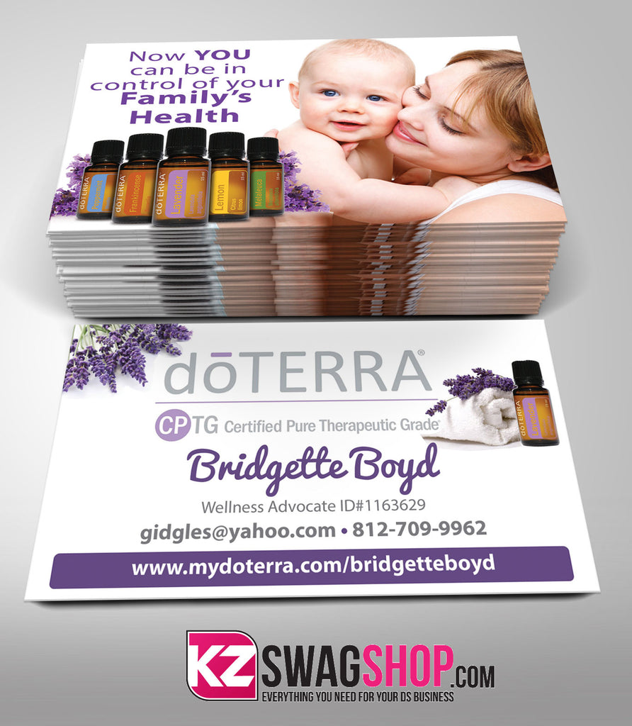 doTERRA Business Cards Style 2