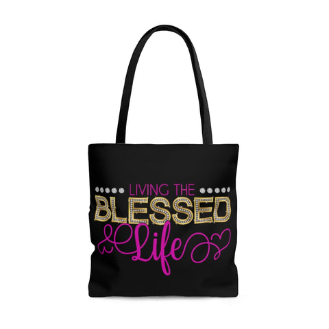 Bling Living The Blessed Tote Bag